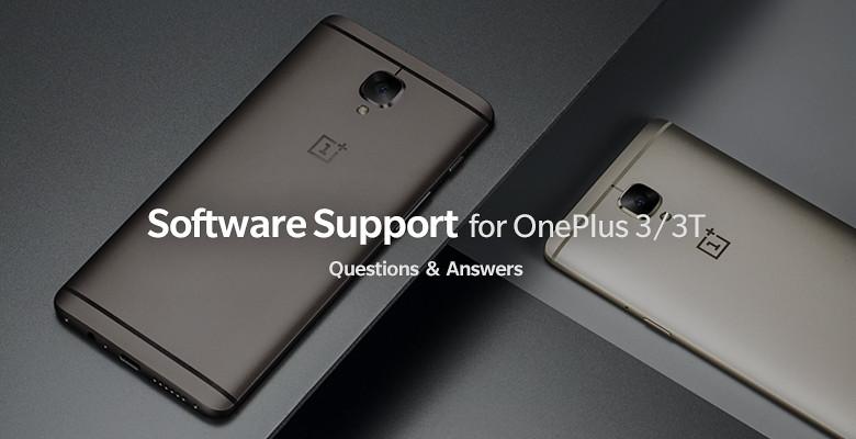 OnePlus 3 és OnePlus 3T - szoftverfrissítés kérdések és válaszok
