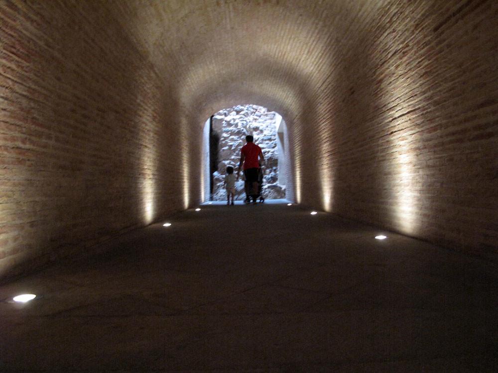 museo teatro cartagena_patrimonio_rafael moneo_sala cripta santa maría la vieja_restauración_patrimonio