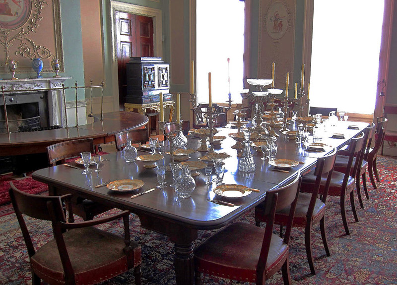 The Dining Room , Calke Abbey. Credit Phil Sangwell