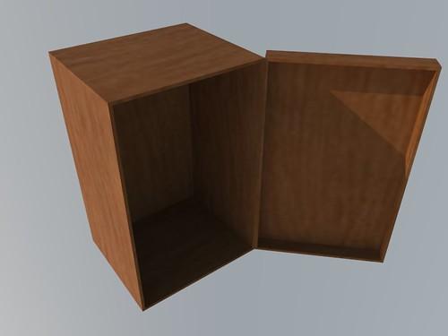 ящик для стенда 1-2