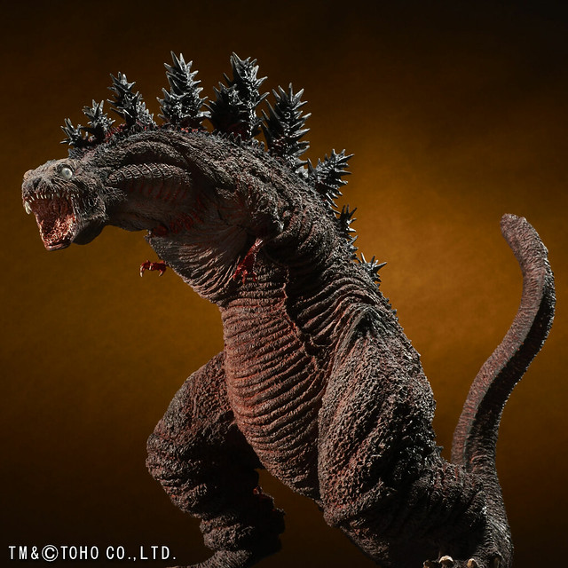更加進化的不明巨大生物!東寶30cm系列《正宗哥吉拉》 哥吉拉 ゴジラ (2016) 第3形態