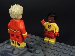 You're the Flash?!