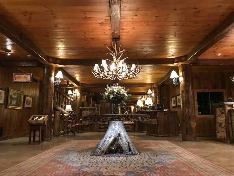 Lobby at Whiteface Lodge
