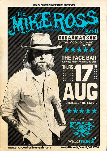Mike Ross poster 17th august