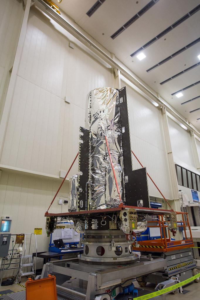 Hellas-Sat-4/SaudiGeoSat-1 in the High Bay
