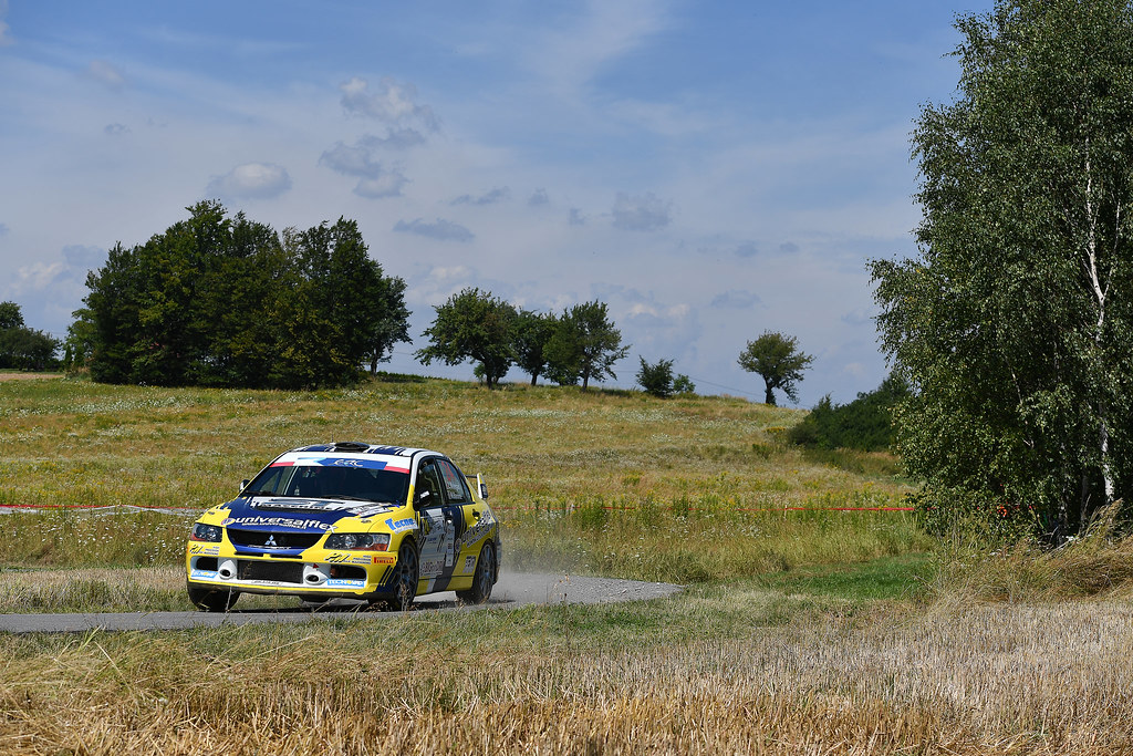 24 MELEGARI Zelindo (ITA) BARONE Maurizio  (ITA) Mitsubishi Lancer Evo IX action during the 2017 European Rally Championship Rally Rzeszowski in Poland from August 4 to 6 - Photo Wilfried Marcon / DPPI