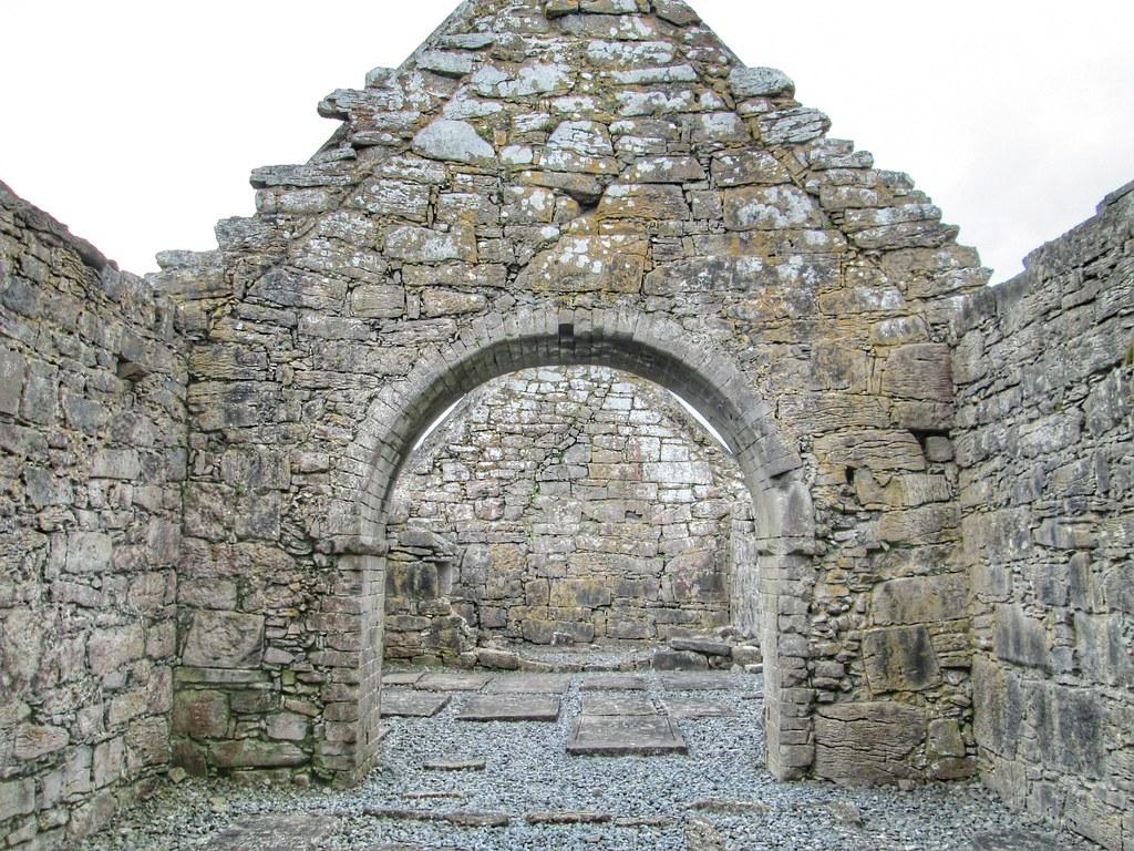 Aran Islands Inis Mor Church ruins