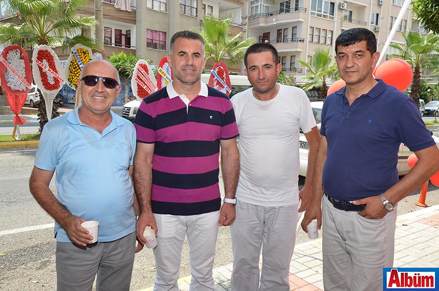 Mustafa Şahinli, Duran Şimşek, Murat Nehirtaş, Mehmet Tekin