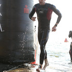 Ironman Wisconsin - Swim Exit