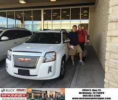 #HappyBirthday to David from Brett Stein at McKinney Buick GMC!