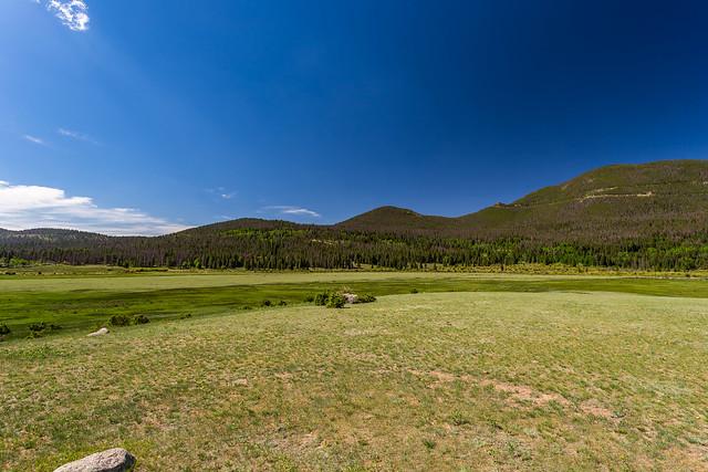 Sheep Lakes at West Horseshoe Park on Trail Ridge Road