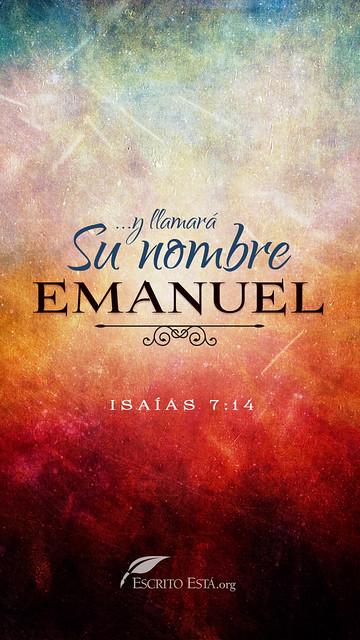 Su nombre es Emanuel