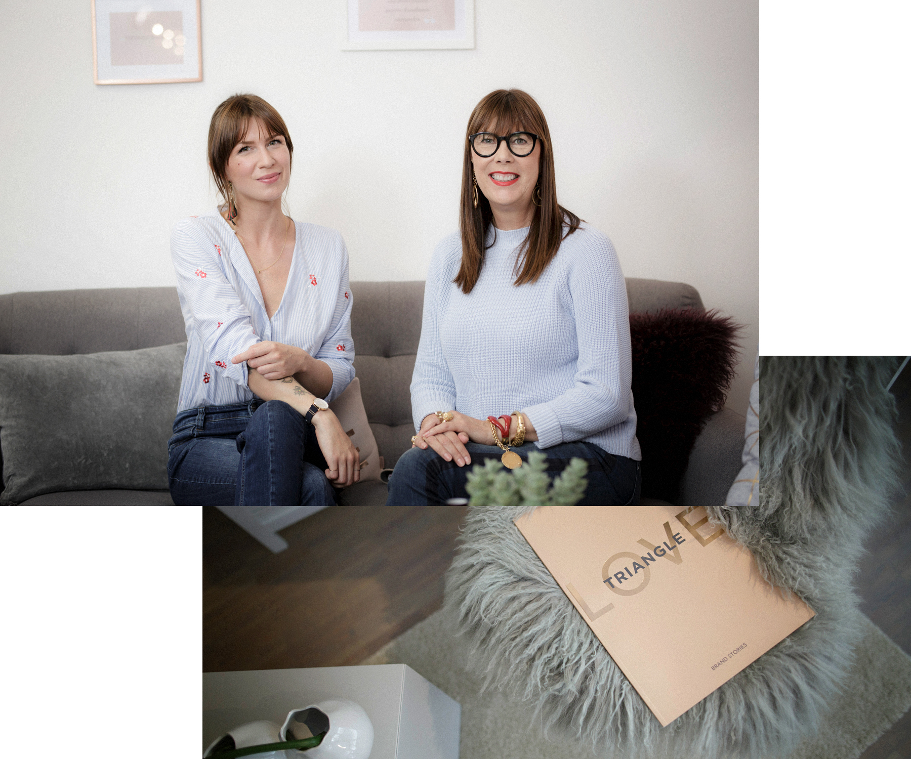 triangle interview business for fashion girls talk fashionblogger rosegold grey minimal scandi style interior brunette bangs cute denim style baby blue cats & dogs modeblog  düsseldorf germany styleblogger outfitblogger ricarda schernus max bechmann 7