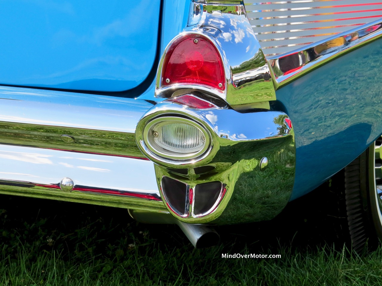 1957 Chevrolet Bel Air Convertible Taillight