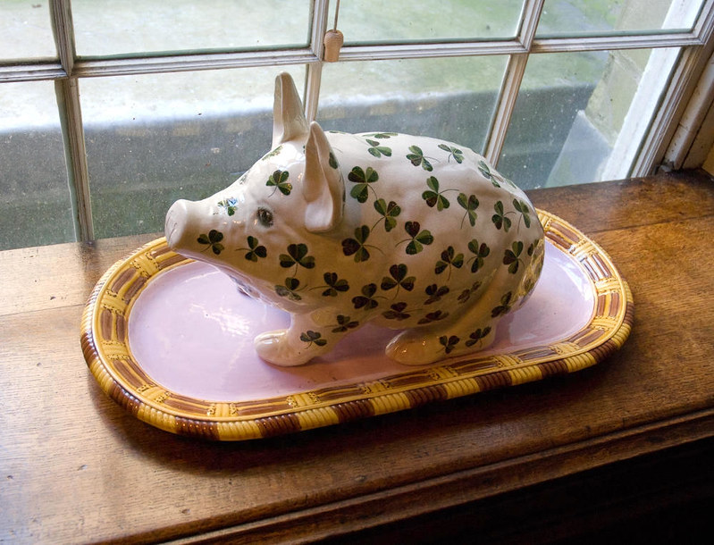 Piggy Bank at Calke Abbey, Derbyshire. Credit Thomas Quine