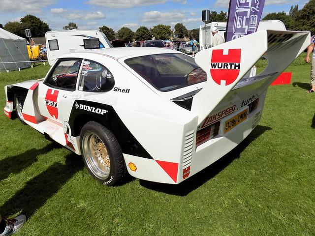 1987 FORD CAPRI 1993cc LASER D389OKM