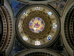 pantocrator ceiling dome