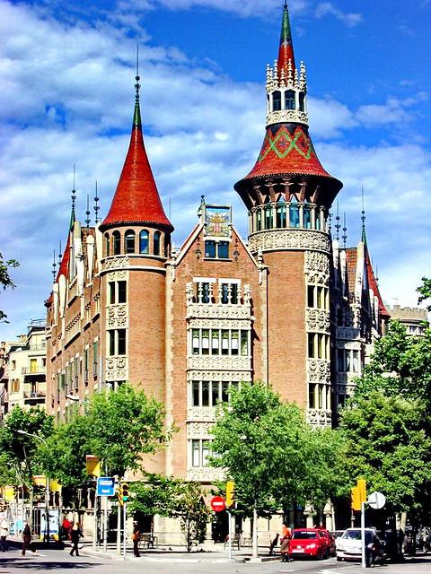 Barcelona, Casa de los Pinchos,