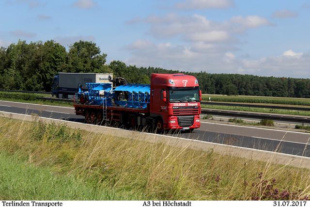 DAF XF von Terlinden-Transporte