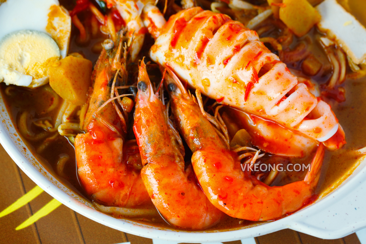 Melaka Sg Putat Curry Mee Fresh Seafood