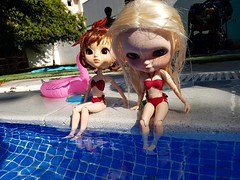 pool blythe summer pullip