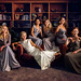 Marnie and her Bridesmaids - Vanity Fair Style