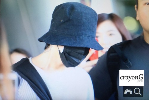 G-Dragon arrival Seoul from Auckland 2017-08-17 (4)