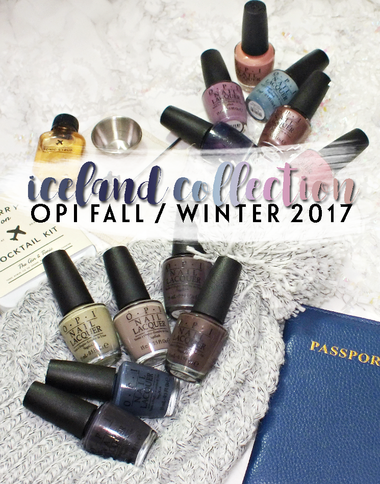 OPI Iceland Collection Fall Winter 2017 (1)