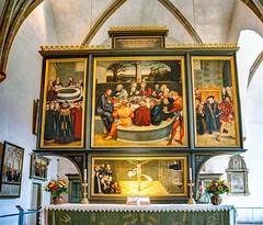 Der Reformations-Altar in der Stadtkirche St. Marien