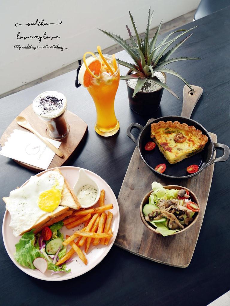 cafe de gear捷運中正紀念堂站附近中正區早午餐brunch餐廳推薦  (1)