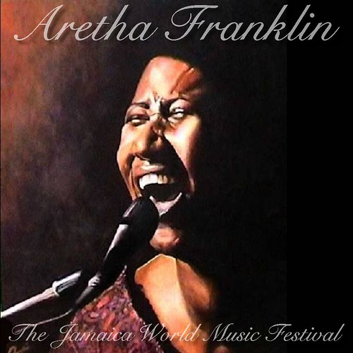 Aretha Franklin [1982.11.26] The Jamaica World Music Festival - Front Cover