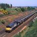 58025 empty MGR Whisker Hill Retford 26.05.1992