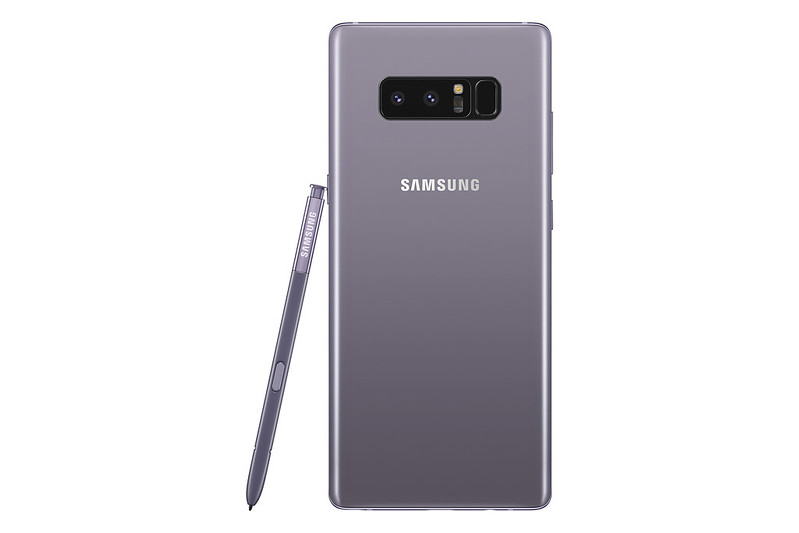Samsung Galaxy Note 8 - Orchid Grey - Back