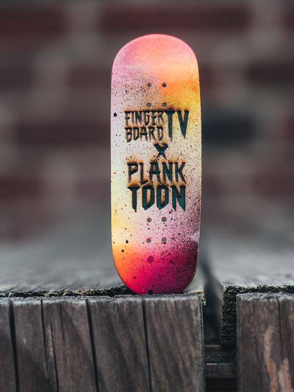 Planktoon X fingerboardTV