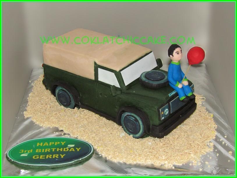 Cake land Rover