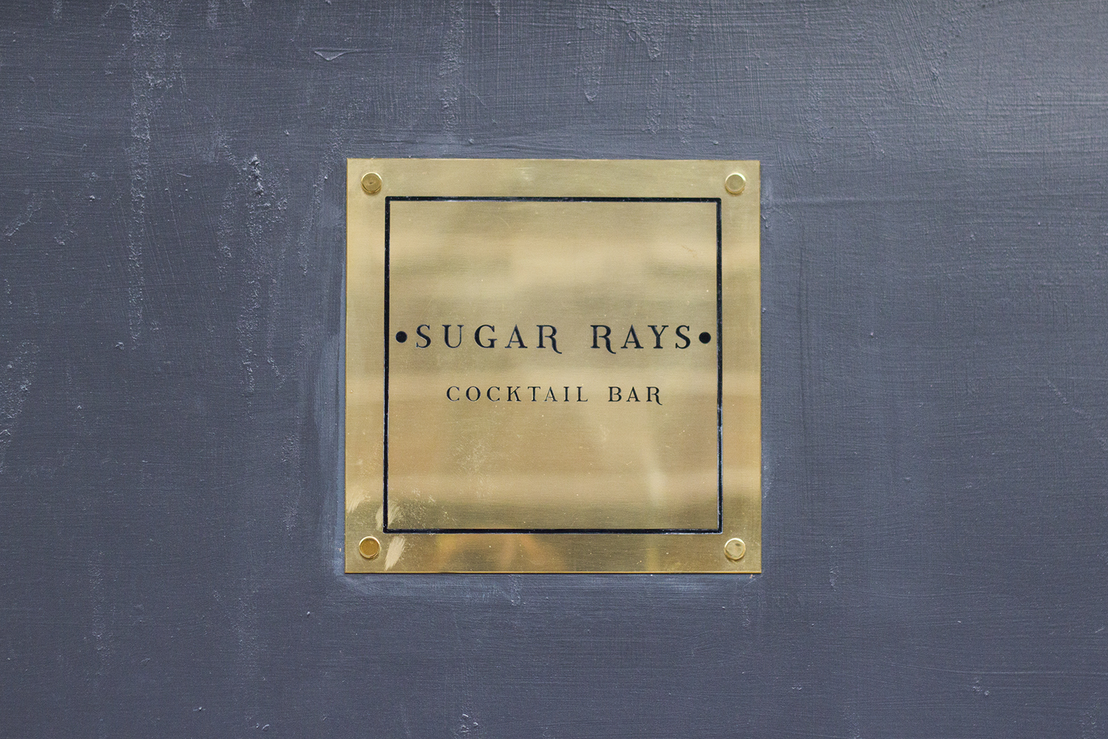 Sugar Rays Cocktail Bar Manchester - Review