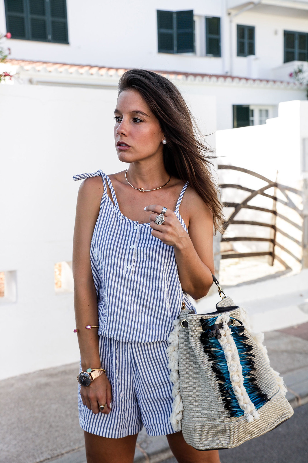 05_Mono_rayas_marineras_casual_outfit_theguestgirl_bolso_boho_via_email_pieces_style_the_guest_girl_influencer_menorca_minorca_barcelona_spain_fashion_blogger