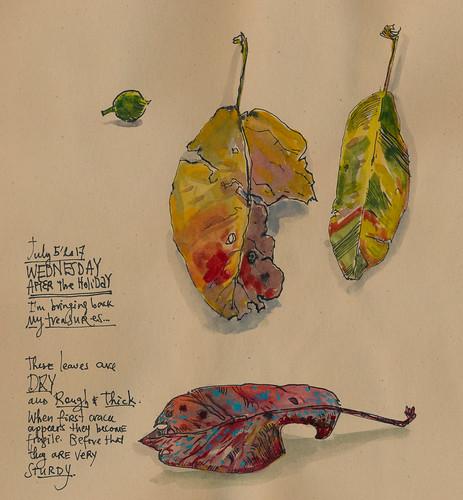 Sketchbook #106: Treasures5