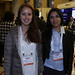 Berenice Cancino y Nayaret Cornejo, ambas de SQM Industrial