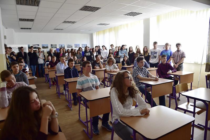 Otvorenie nového školského roka na SOŠ chemická, Vlčie hrdlo 50