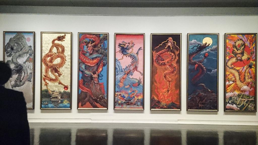 京都を舞台にした7連作の展示