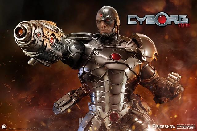 Prime 1 Studio 正義聯盟 新52【鋼骨】Justice League New 52 Cyborg 1/4 比例全身雕像作品 PMN52-05EX