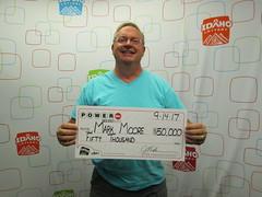 Mark Moore - $50,000 - Powerball - Nampa - Gem Stop