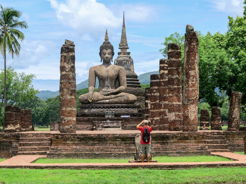 Visita al parque histórico de Sukhothai