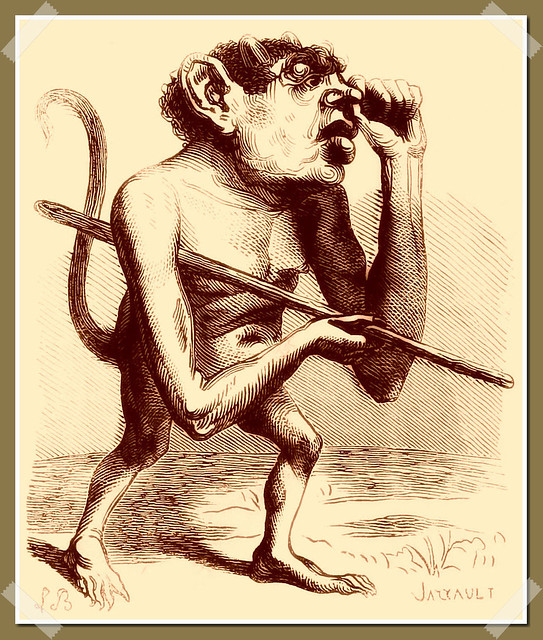 Ronove as depicted in Collin de Plancy's Dictionnaire Infernal, 1863 edition.