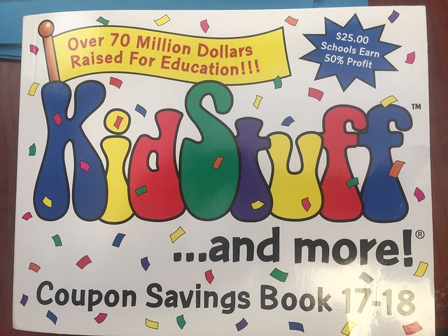 KidStuff Coupon Books: Schools RAISE Money…Families SAVE Money! #GIVEAWAY
