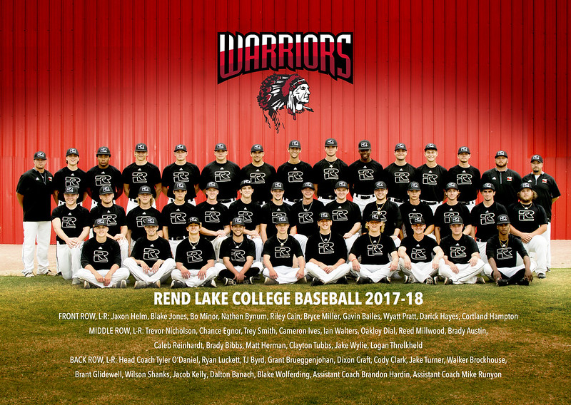 Rend Lake College Baseball 2017-2018