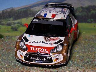 Citroën DS3 WRC – Montecarlo 2013 - Spark