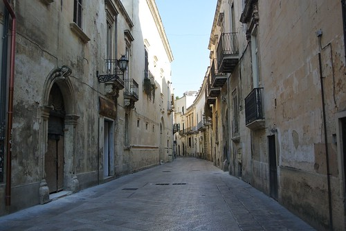 Una strada a Lecce