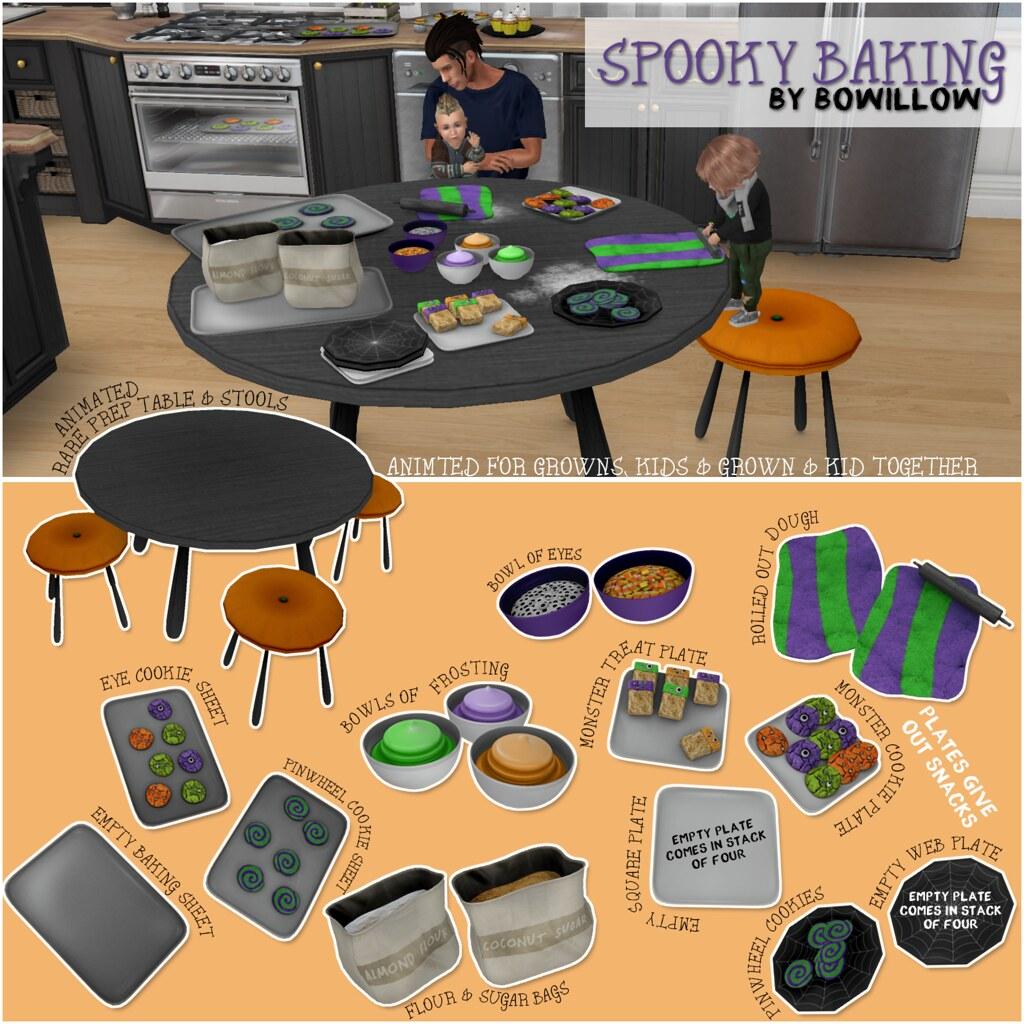 Spooky Baking Gacha Ad